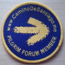 """Pilgrim Forum Member"" badge"