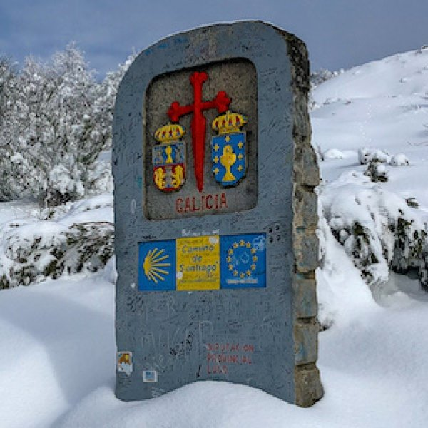 Entrance to Galicia in Winter
