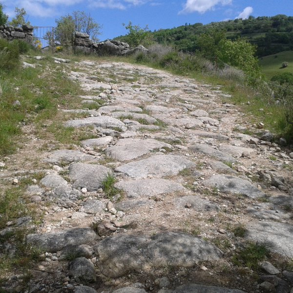 Roman Paved Way - Calzada de Béjar