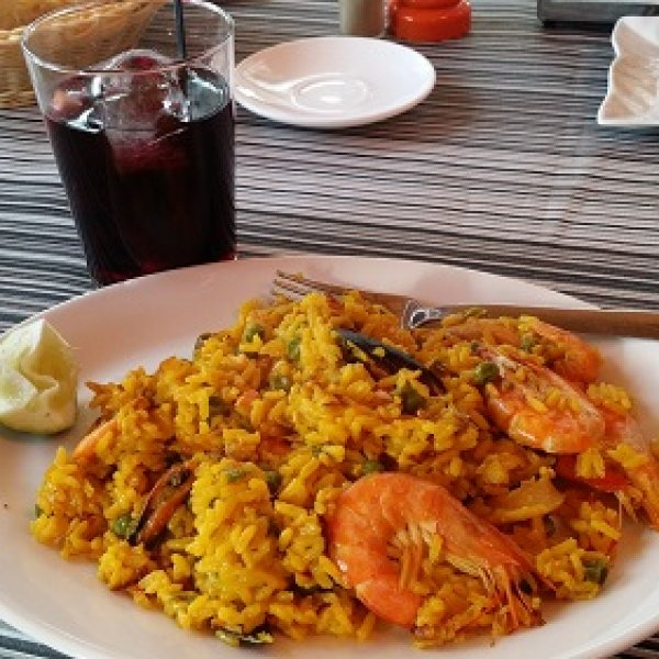 Paella in Pamplona