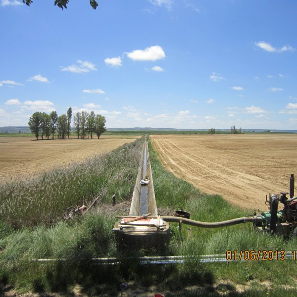 Irrigation between Boadilla and Fromista