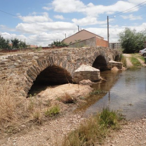 Roman Bridge at the entrance to Astorga