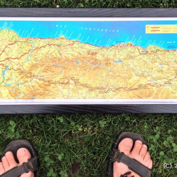3d map CF, CdN, my feet