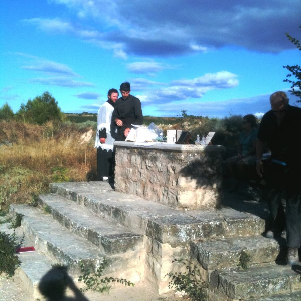 Carraig an Aifrinn (Mass on the Camino)