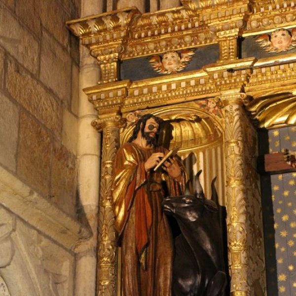 St. Luke at the cathedral in Leon