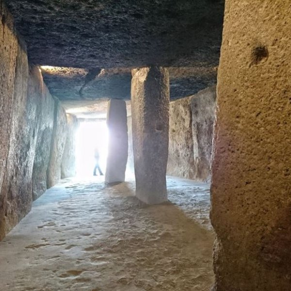 Dolmen de Menga, a 6000 year old megalythic tomb
