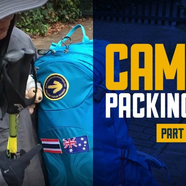 Pat's Camino Packing List Part 1 - Clothing - for her 1st Camino!