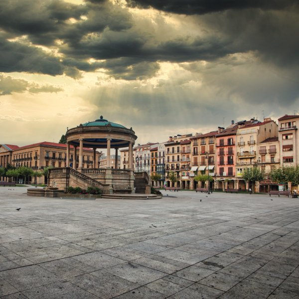 Pamplona Morning