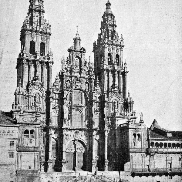 Cathedral in Santiago 1909