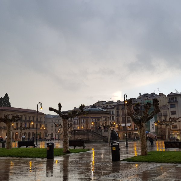 Pamplona - Amazing even in the Rain