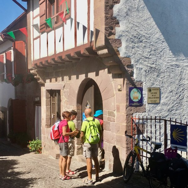Camino begins at St Jean Pilgrims Office