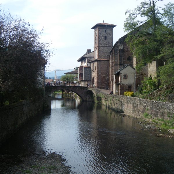 Picturesque St. Jean in the Pyrenees