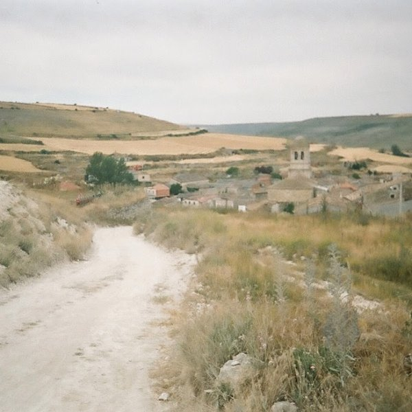 Entering Hontanas