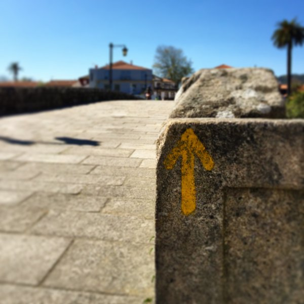 Arrow at Ponte de Lima