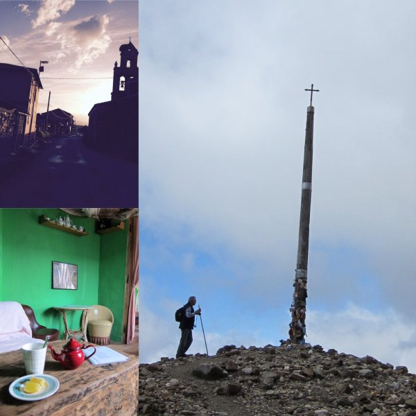 Overnight at El Ganso, and the morning after.