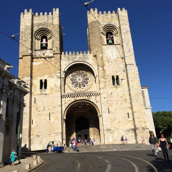 The start. Lisbon Cathedral.