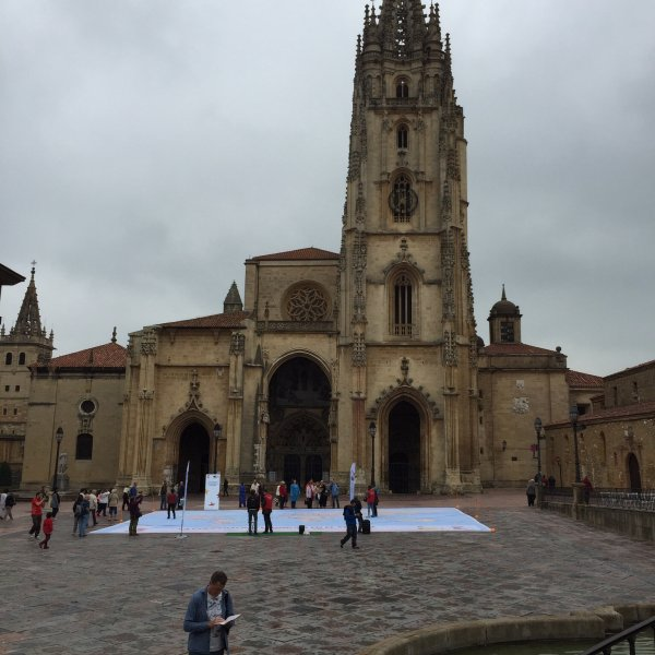 Side trip to Cathedral in Oviedo after del Norte