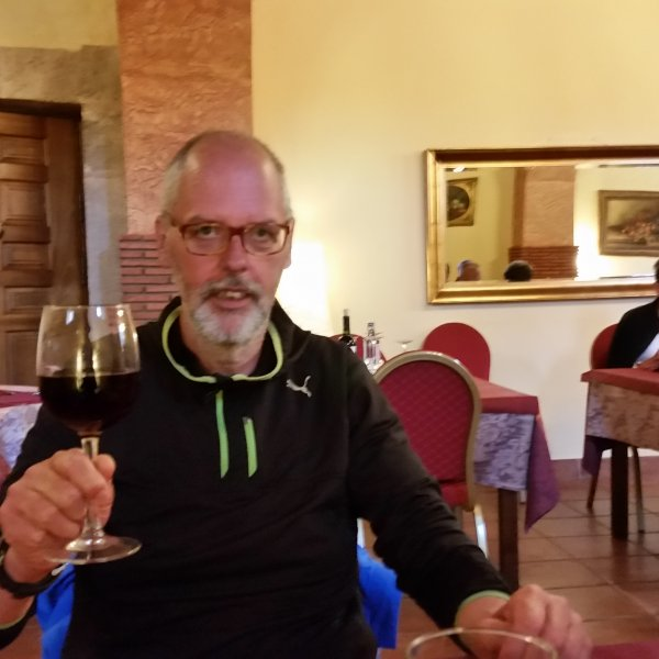 A toast on the next Camino.