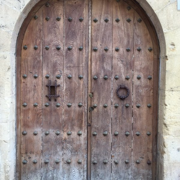 Doors to cathedral in Oviedo