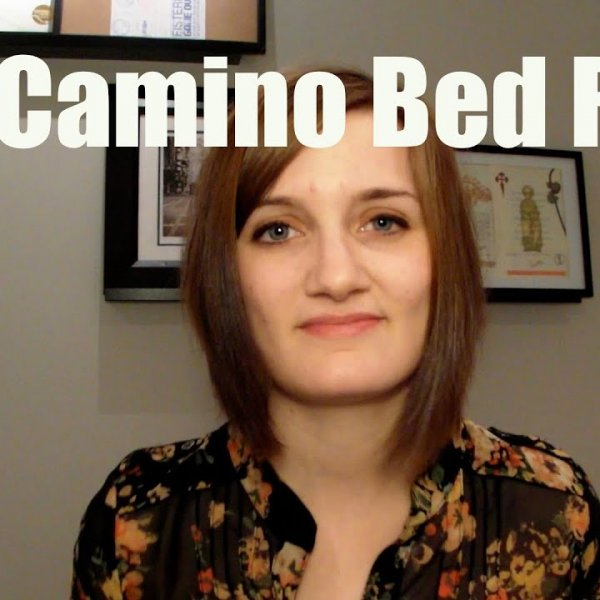 CAMINO TIPS: The Infamous Bed Race - YouTube