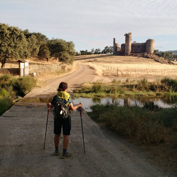 Crossing from Andalusia to Extremadura June 2015