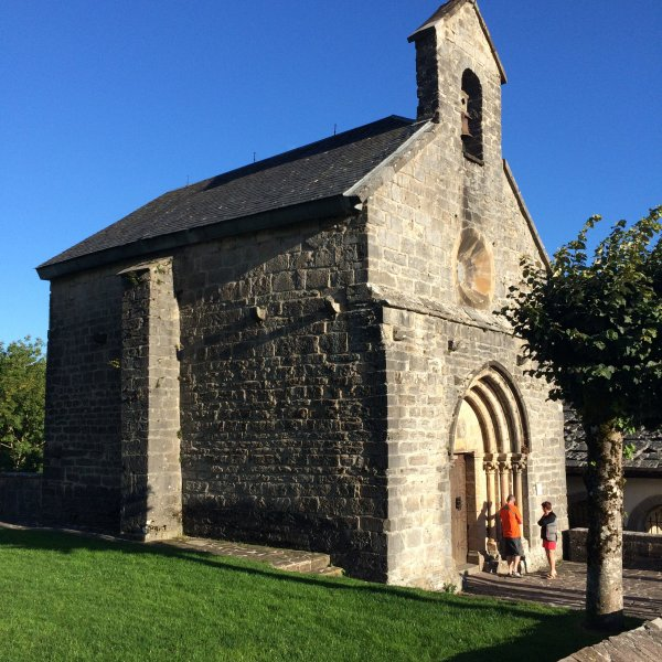 Chapel in Roncevalles