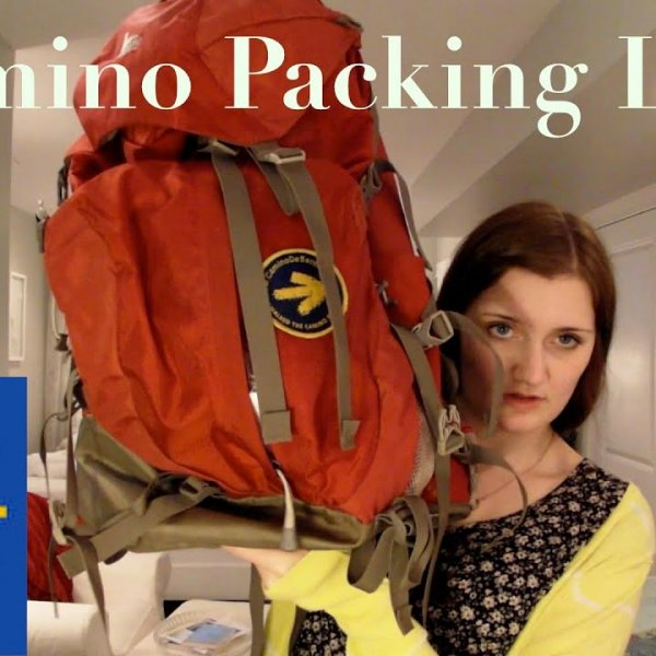 My Camino Packing List and Gear Review - YouTube