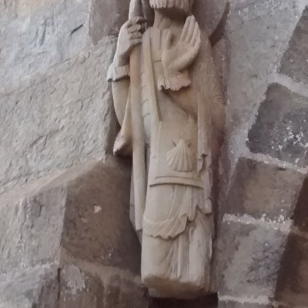 Oldest peregrino statue ?