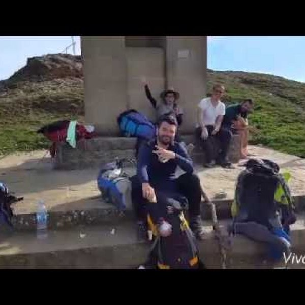 Day 1 on Camino de Santiago - YouTube