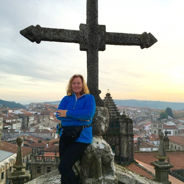 Up on the Roof of Santiago de Compostela Cathedral
