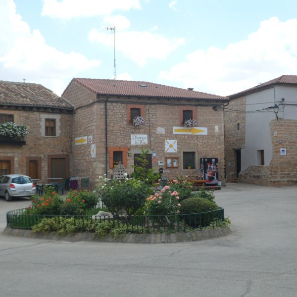 Albergue in the Village of Rabe de las Calzados
