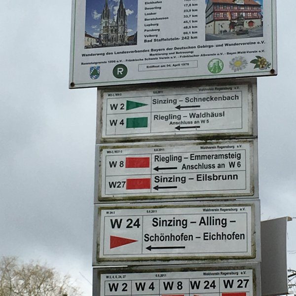 So many paths to choose- Germany
