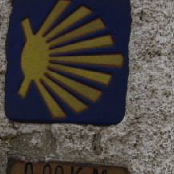 the end of the Camino