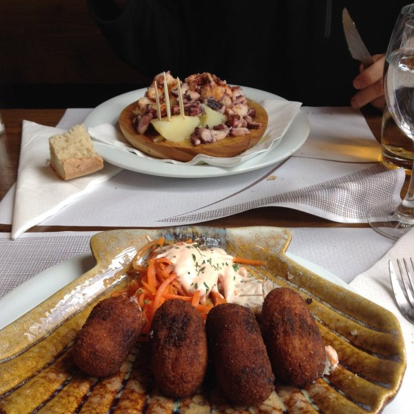 Samos, best croquettes of the entire Camino