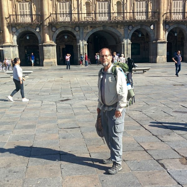 Doug at Salamanca