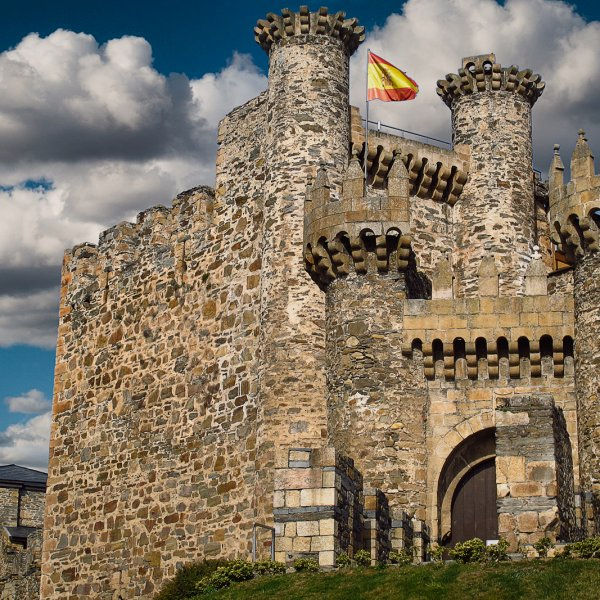 Castle of the Templar knights