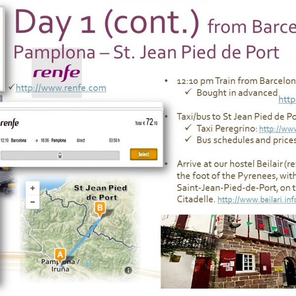 Day 1 (Cont.) The Pureco Way (Camino Frances May 2017)