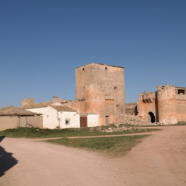 Old Castle and new House