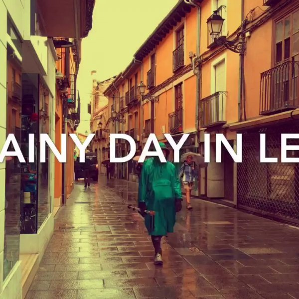 Video: A rainy day in Leon