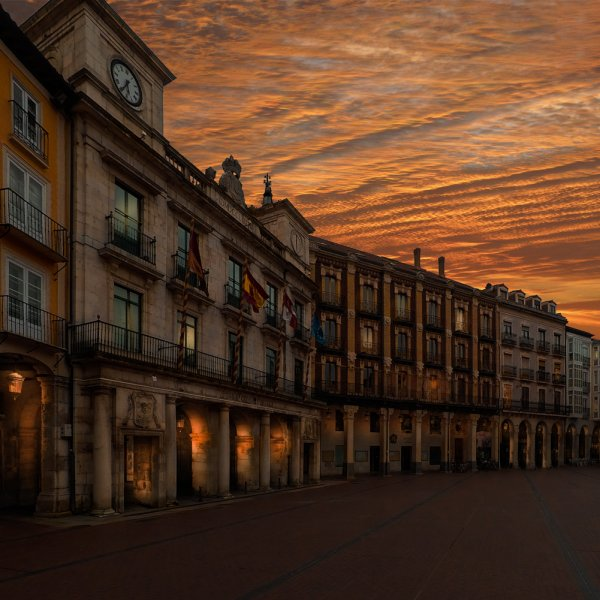 Sunset in Burgos