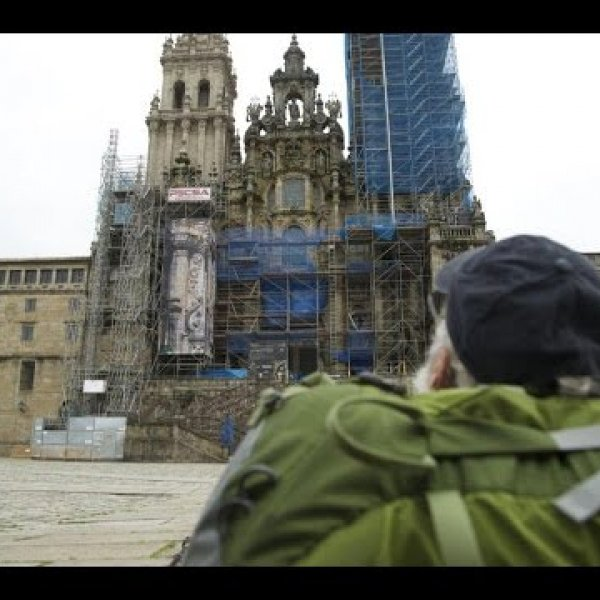 Chap10 I arrive at Santiago on the Camino de Santiago - YouTube