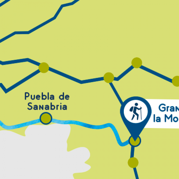 Camino sabares map stages