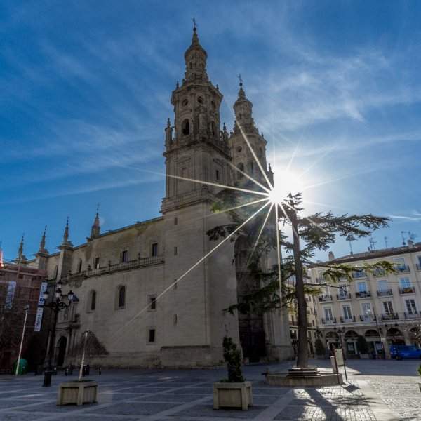 Logroño at high noon