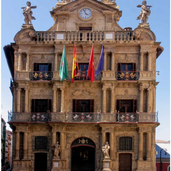 Pamplona ( Iruña) Town Hall