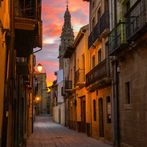 Morning light in Santo Domingo de la Calzada