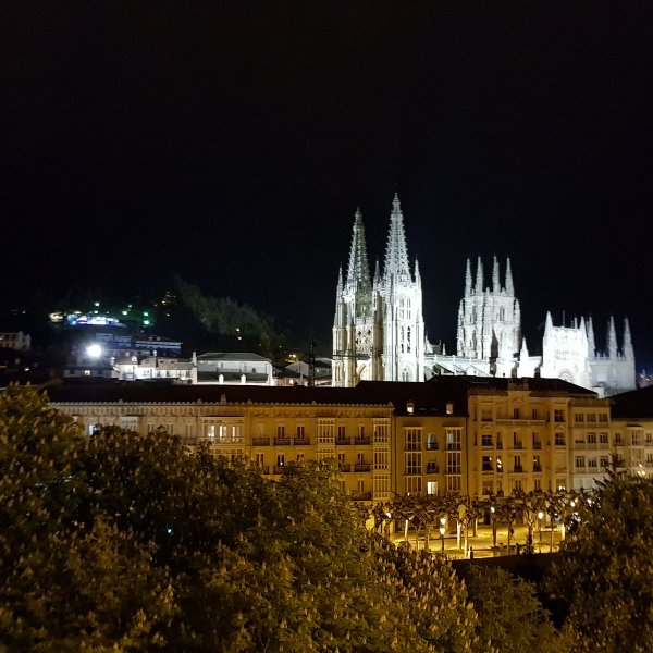 Burgos by Night