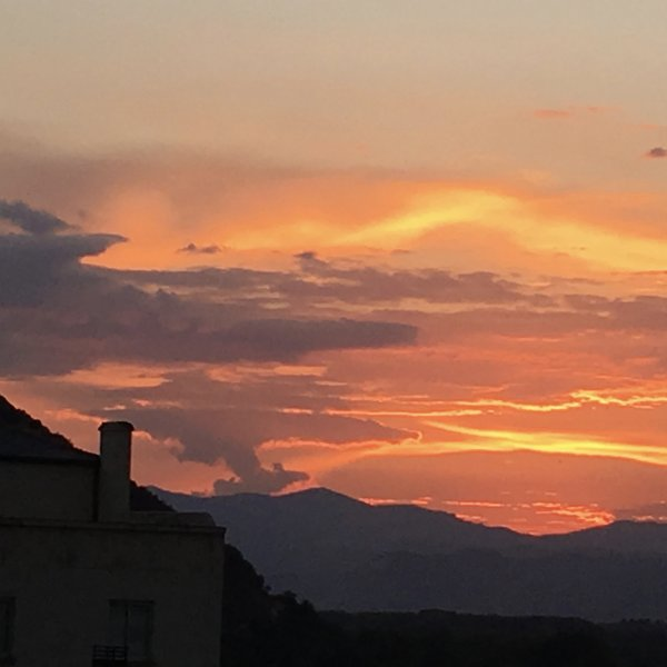 Ponferrada sunset - 29 Sept