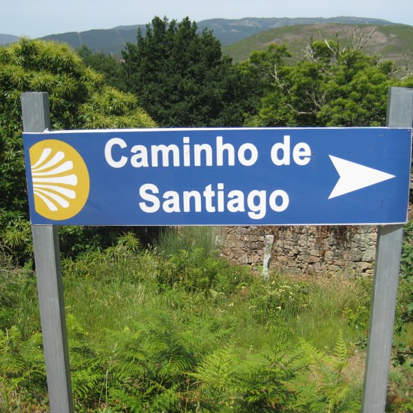 Aha, this way to Santiago