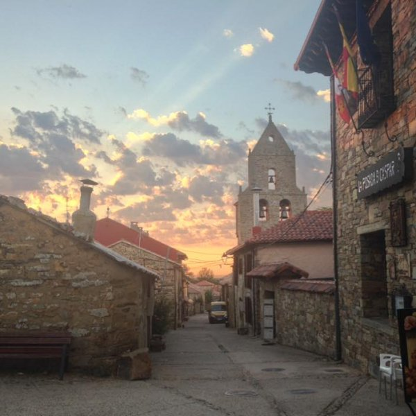 You've got to love those Camino mornings