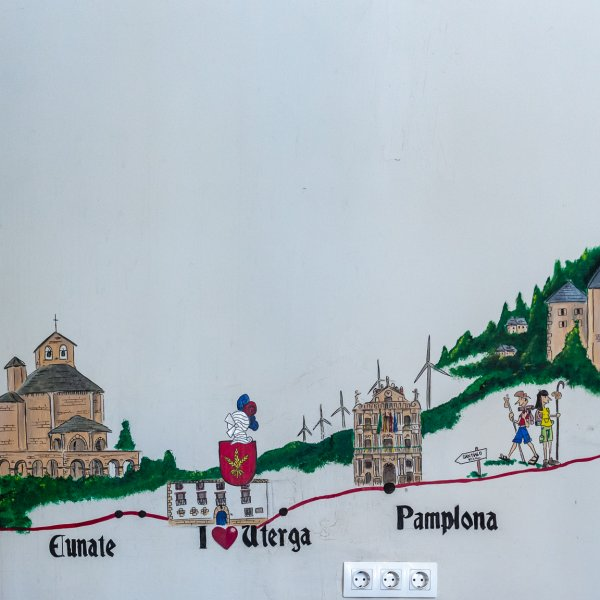 The Synopsis from Roncesvalles to Puente la Reina